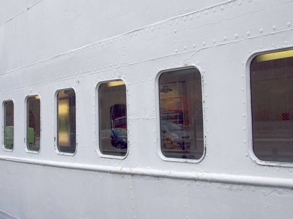 Day Mode Of Transport No People Outdoors Ships Hull Transportation Travel White Color Window Windows In A Row