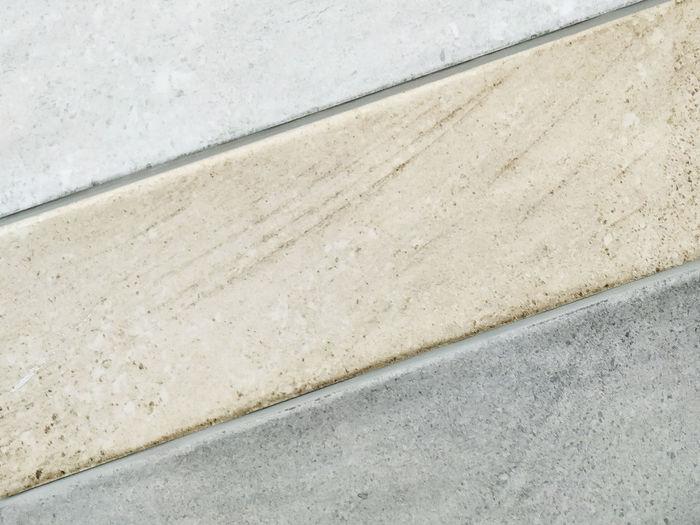 High angle view of concrete wall