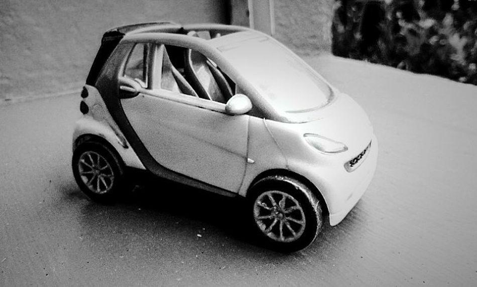 Open Edit Smart Car Preto & Branco Bw Photography