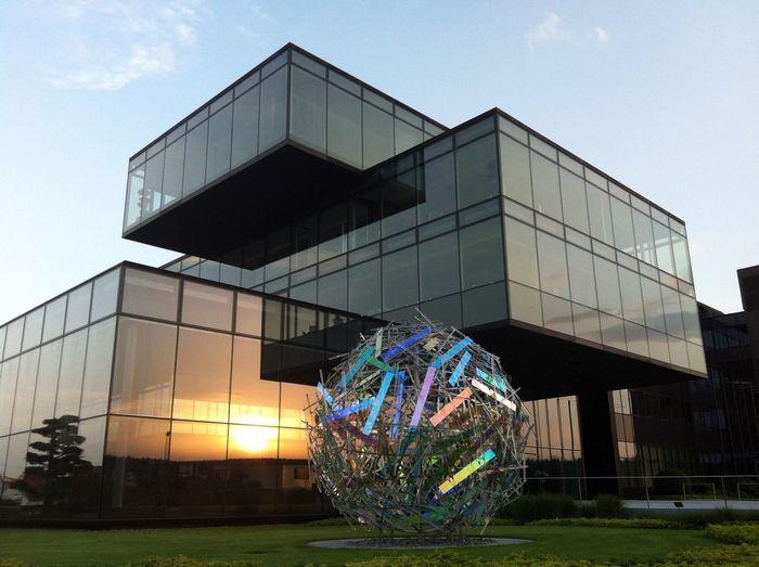 Sonne und Glas Sunset Glasses EyeEm Best Shots EyeEm Deutschland Modern Architecture Tadaa Community