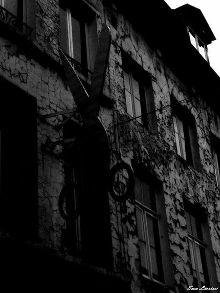 Architecture Brussels Building Exterior Built Structure Decay Gothic Low Angle View Marolles Weird