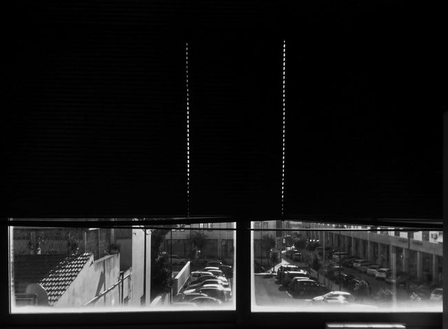 Blackandwhite Blackandwhite Photography Black And White Collection  Monochrome At The Office World Outside My Window