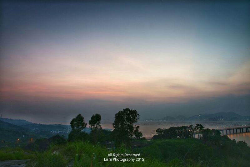 夜幕低垂 Landscape_photography EyeEm Nature Lover Winds &clouds Landscapelovers Pardise Magic Moments Sunsets EyeEm Best Shots - Landscape Night Photography City Architecture