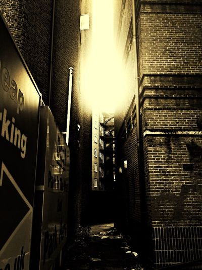 Alleyway Street Photography