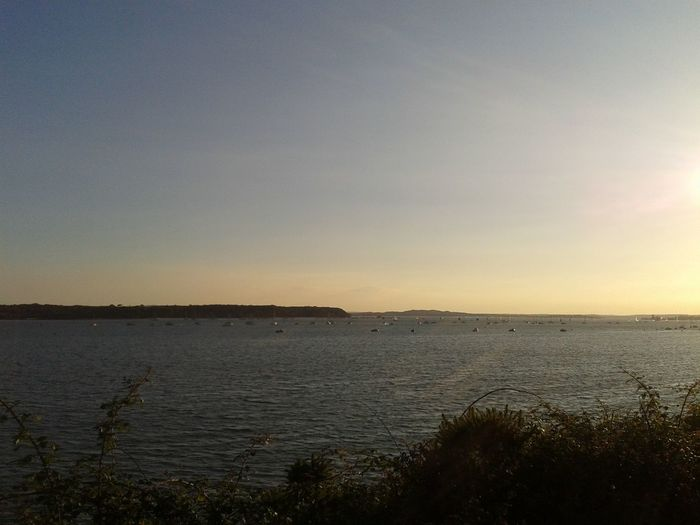 I miss England :( taken on Evening Hill, Poole. Sunset Beautiful View Take Me Back Home