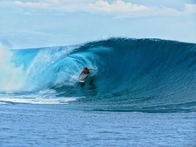 UnderSea Scuba Diving Wave Sea Sportsman Full Length Sport Water Extreme Sports Men Go Higher Summer Exploratorium