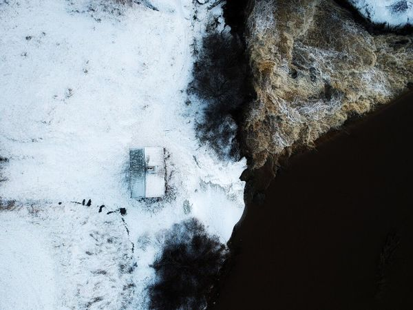 Finland Dji Spark Spark Dji Rock - Object Day Nature No People Beauty In Nature Outdoors Shades Of Winter Water EyeEmNewHere