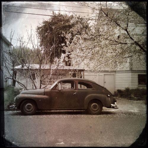 Vintage Cars NEM Memories NEM Derelict Portland Afternoon