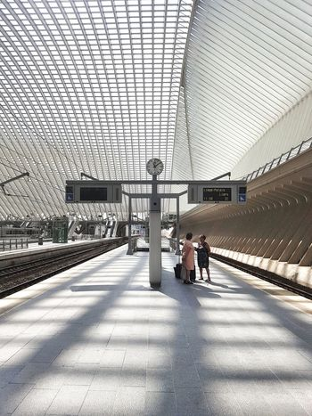 Modern Outdoors Pictureoftheday Architecturephotography Train Station Architecturelovers One Person People Building Exterior Travel Destinations Photooftheday Photooftheweek From My Point Of View Futuristic Shadow