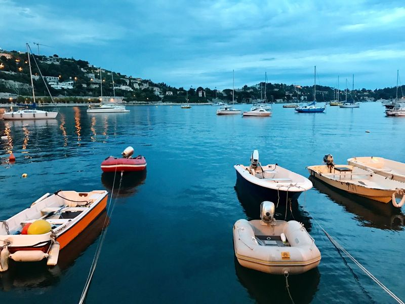 Nautical Vessel Water Transportation Mode Of Transport Moored Boat Sky Day Outdoors Cloud - Sky Built Structure Nature No People Architecture Sea Building Exterior Harbor Mast Beauty In Nature Yacht Night View Neighborhood Map Night Sky Blue