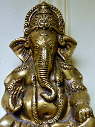 Hindu related Art Brass Close-up Elephant Exotic Focus On Foreground Go God Göl Hand Hindi Hindu Hinduism India Instrument No People Ornate Playing Religion Religious  Replica  Representation Shiny Sitting Statuettes