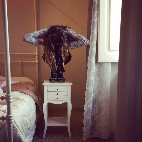 Lamp Hotel Room