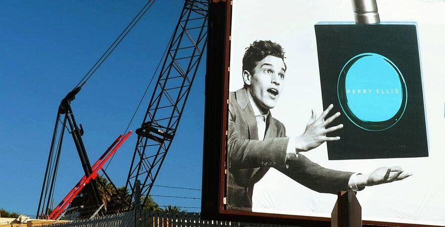 Vallejo California Crane Billboard