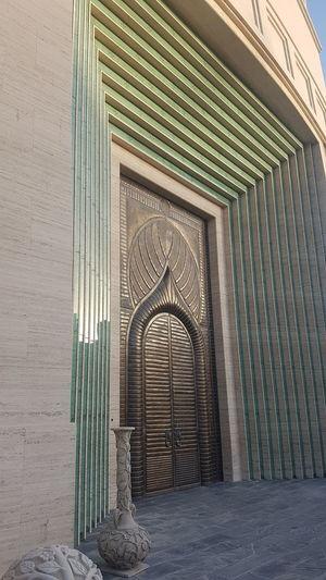 The entrance Architecture Main Door Metal Work Metal Door Katara