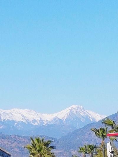 Blue Snow Mountain Outdoors Polar Climate