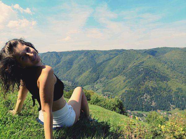 EyeEm Selects Mountain Sitting Beauty Portrait Summer Women Relaxation Human Hand Beautiful Woman Females