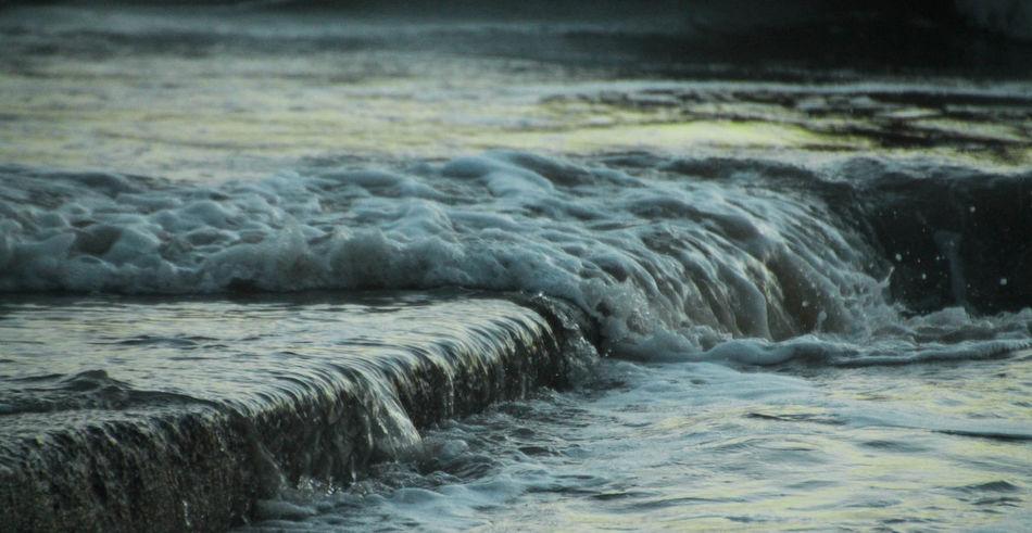 Motion Nature Sea Shore Splashing Water Waterfront Wave