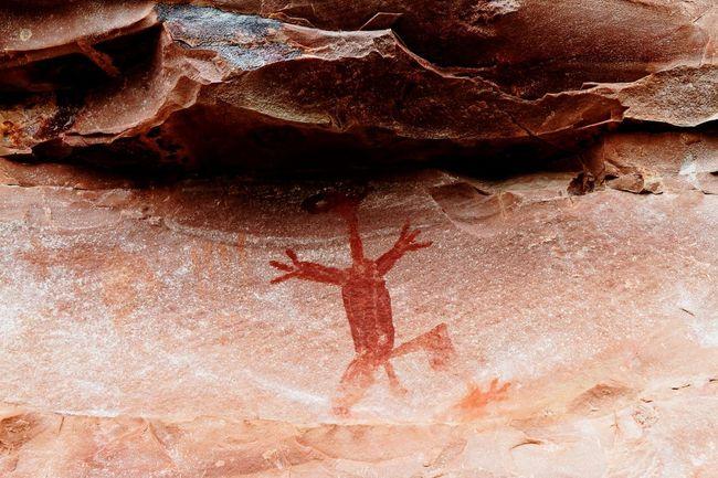 Rock paintings-Chapada diamantina-Brazil Landscape_photography Rock Paintings Chapadadiamantina Bahia/brazil Chapada Arte Rupestre Landscape_Collection Alien Rock Art