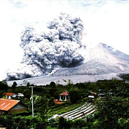 Sinabung volcano's