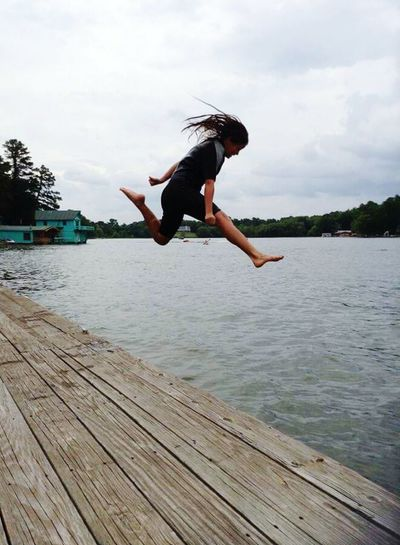 Action Shot  Jumping Summer2014 Water Babies Children Helloworld Lifestyle Enjoying Life On The Move