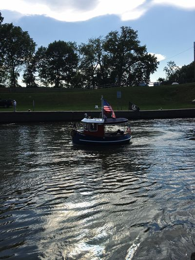 Boat Tugboatroundup2016 Waterford_newyork Cohoes-New York Lock2 Waterfront