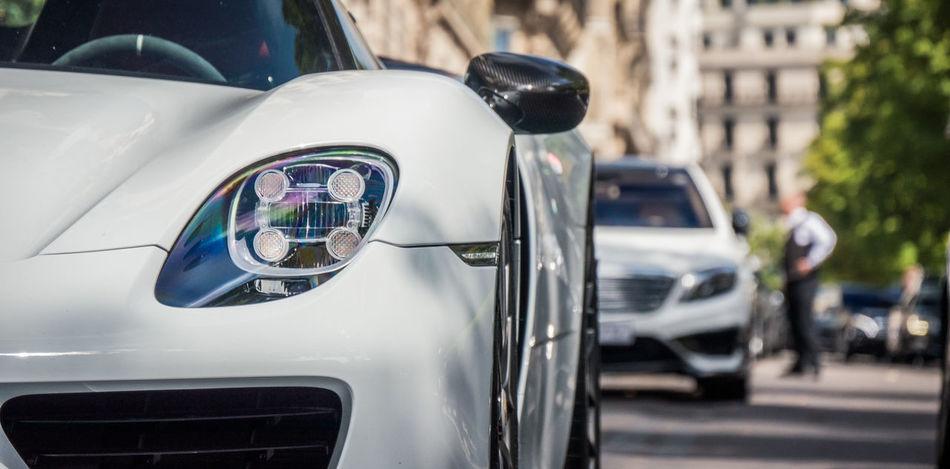 918 918Spyder Benz Cat Light Light And Shadow Mercedes Paris Porsche Sunset
