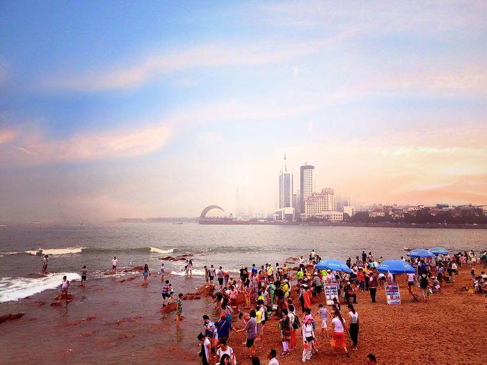 Photography,青岛,city view City View  Traveling 青岛 Qingdao First Eyeem Photo Hello World EyeEm China The Street Photographer - 2015 EyeEm Awards Sky And Clouds Sea View