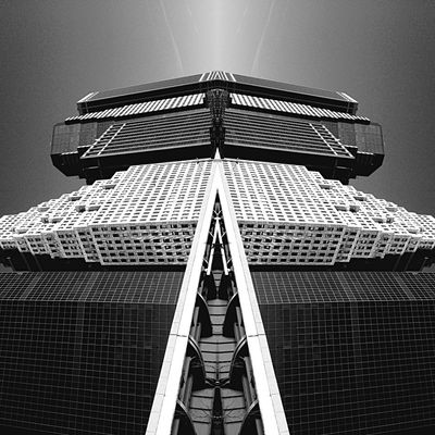 Spockisnothere Protoart Instabookproject Eye4photography  Experimental IPhoneography NYC The Architect - 2015 EyeEm Awards