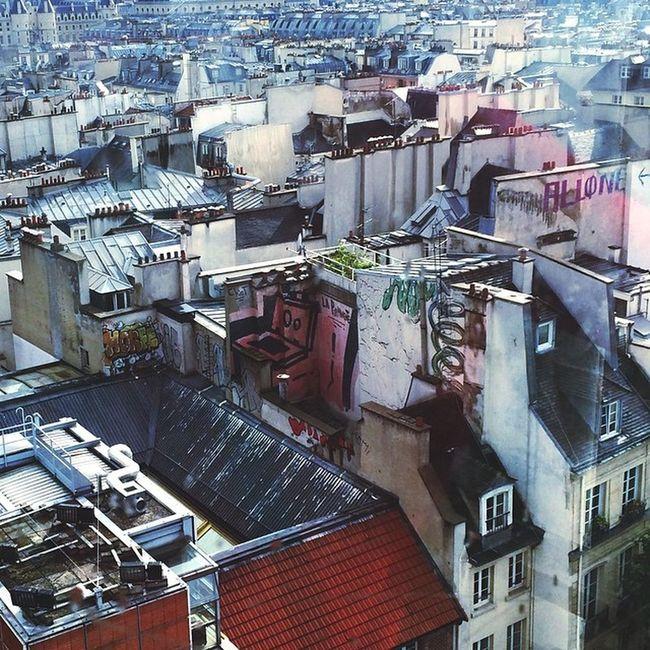 Vscocam Paris Roofs Tags