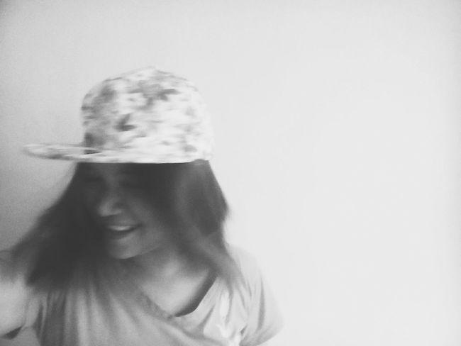 Hair flip ft. hat