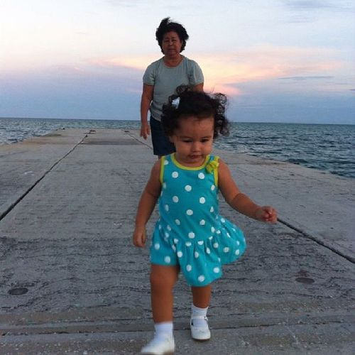 My lovely god daughter giving her nanny exercise hehe .... growing up so fast ... missing san pedro. Islandgirl Sanpedrana Trouble Islandlife sentphoto
