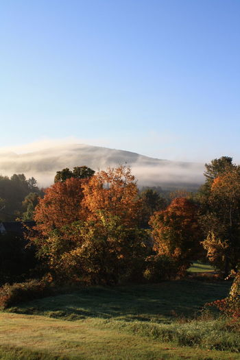 Clouds, Mountains, New England Fog Majestic Outdoors