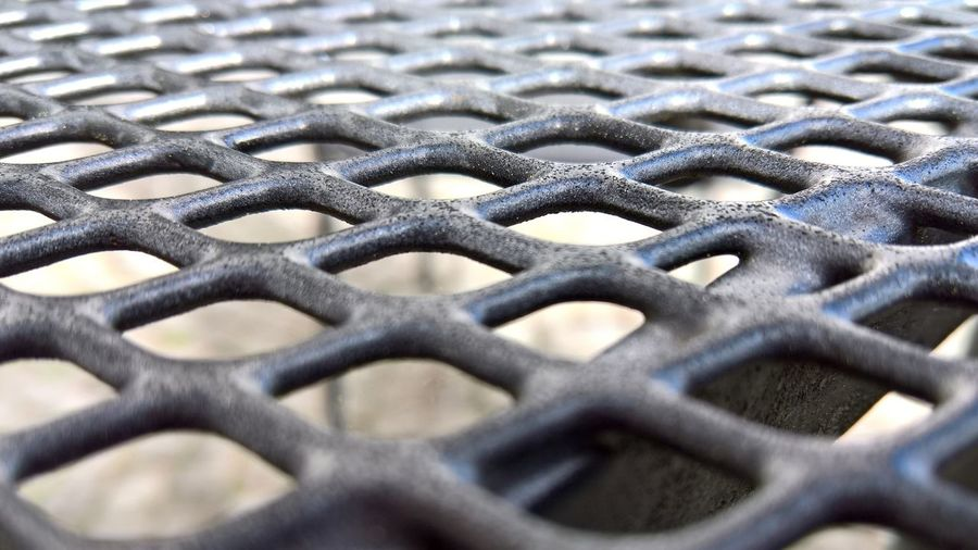 16x9 Shape Textures and Surfaces Backgrounds Boundary Close-up Contrast Crisscross Design Fence Focus On Foreground Full Frame Grate Grid Metal Metal Grate No People Pattern Protection Repetition Safety Security Selective Focus Textured