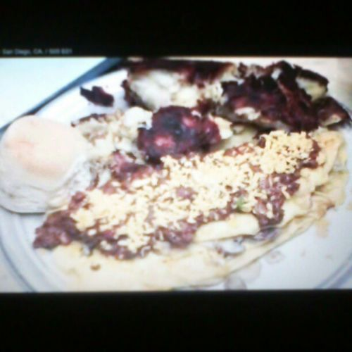 The Broken Yolk (6pounds: 12eggs, ChiliSauce, HashBrowns) ManVFood S03 Sandiego BrokenYolkCafe