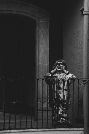 Clown Payaso Creepy Creepy Face Portrait Blackandwhite Black & White Black And White Blackandwhite Photography Black&white Nikon Nikonphotography