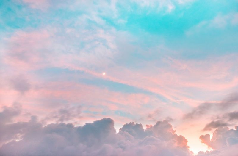 Cloud - Sky Dramatic Sky Atmospheric Mood Cloudscape Sky Idyllic Weather Beauty In Nature No People Ethereal Tranquility Heaven Red Nature Scenics Sunset Morning Outdoors Forest Sun