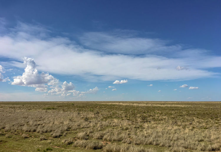 UFO crash site near Roswell, New Mexico. New Mexico Roswell UFO Aliens Arid Climate Cloud - Sky Crash Site Dry Field Horizon Landscape No People Prairie Sky
