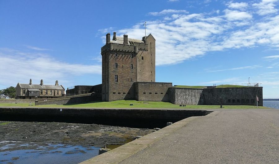 Broughty Castle History Castle Architecture Sky Building Exterior Day Outdoors No People