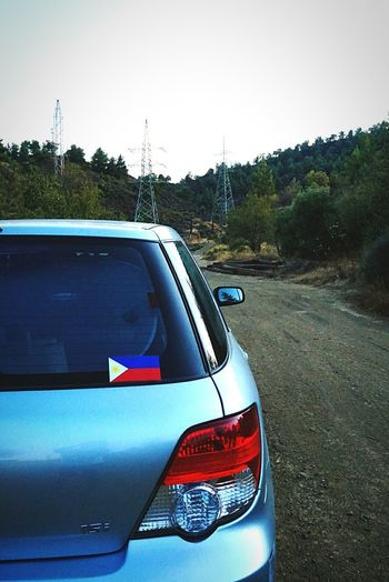 Philippine in everywhere Philippineflag Subaruimpreza in village Temvria