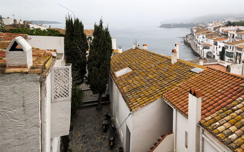 Cadaqués 02 (Gerona-Spain) Chimneys Cityscape Cloudy Day Coastline Elevated View Mediterranean Landscape Mediterranean Sea Mediterranean Seascape Outdoors Panoramic View Residential Structure Roofs Rural Scene Scenics Seascape Seascape Photography Seaview Tranquility Tranquillity View From Above Viewpoint Village Life Village Lifestyle Village Photography Village View