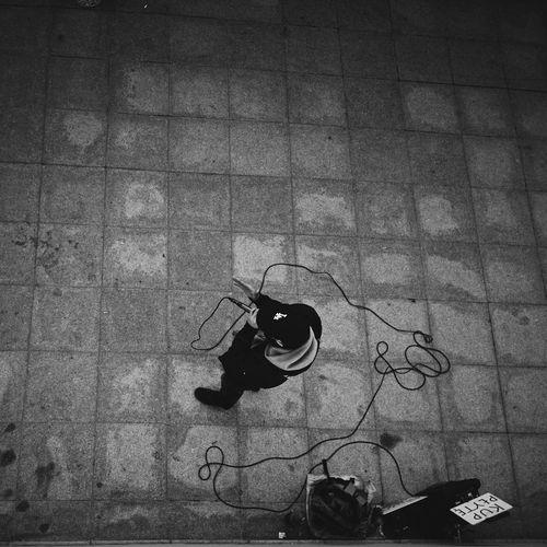 Street Photography Blac&white  Katowice Filozof Rapfilozof Pepole