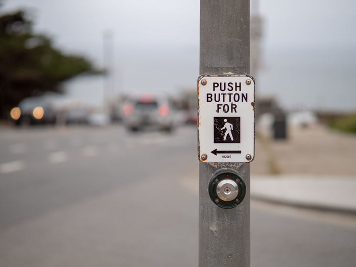Button Cross Crossing Push Signal Symbol Traffic Signpost Arrow Transportation Turn Urban Walk Warning Automobile Car Caution City Curve Design Education Highway Law Light Posting Protection Road Roadsign Safety Sign Speed Street