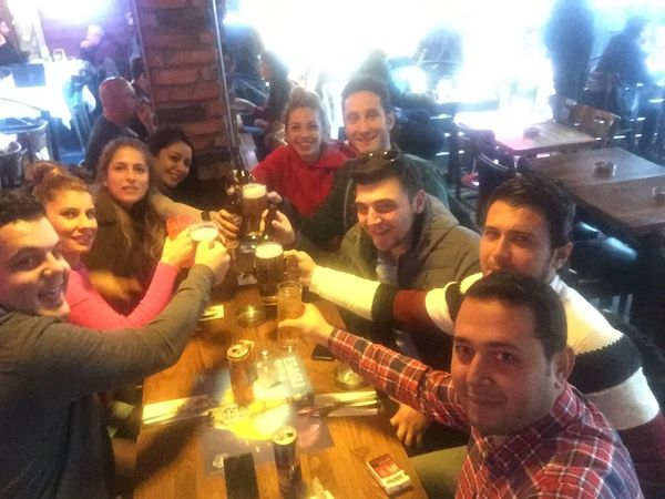 🍀 Goodday Friends Elma Pub Besiktas Happiness Men Real People Alcohol Friendship Togetherness Beer - Alcohol Celebration Fun Lifestyles Smiling Party - Social Event Large Group Of People