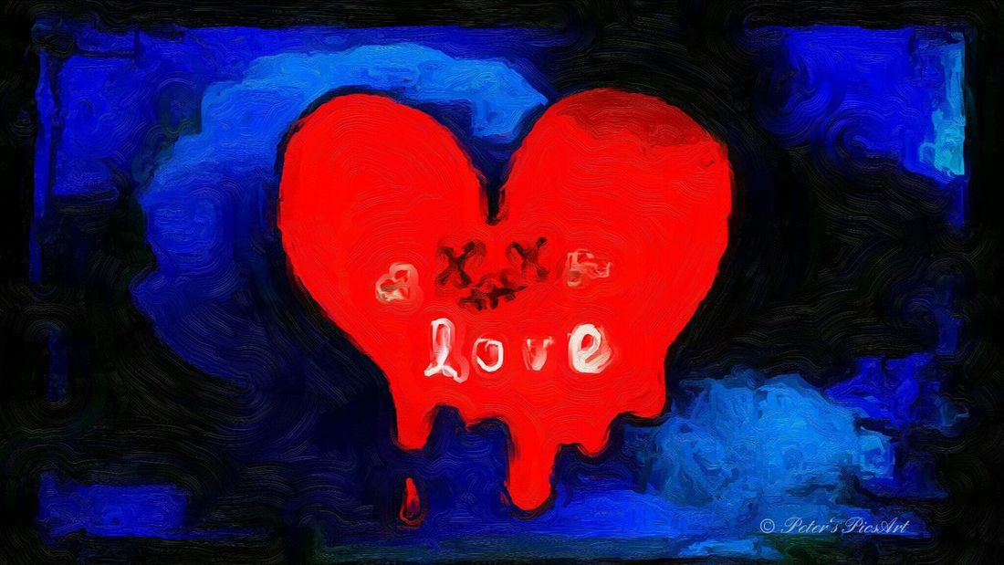 Heart Love Drawing Painting