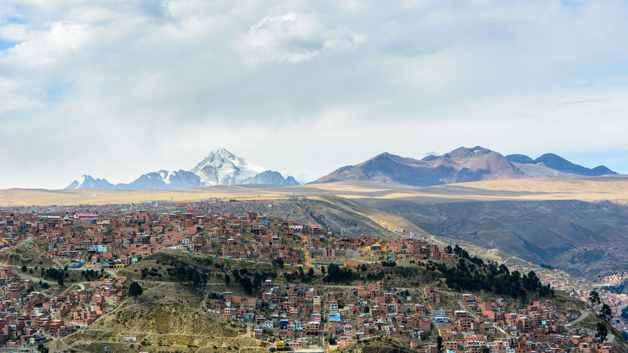 Bolivia City El Alto, Bolivia La Paz, Bolivia Travel Landscape Mountain Mountain Range Outdoors Scenics Sky Travel Destinations Lost In The Landscape The Traveler - 2018 EyeEm Awards