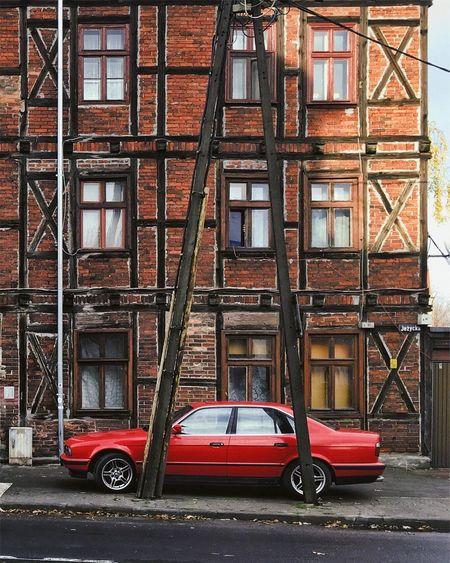 City Urban Fachwerk Brick Wall Red Color Youngtimer EyeEm Best Shots