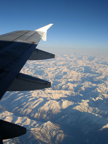 Photography In Motion Wing Of Plane A View From The Window Mountains Airplane Clear Sky Flying From An Airplane Window From A Plane Window
