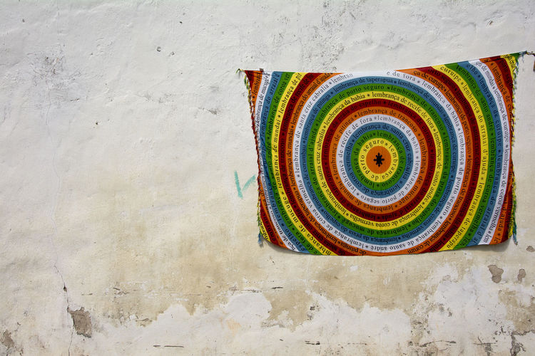 Memories from Porto Seguro, Bahia, Brazil, This is used to exit the beach.... Artesanato Bahia Beach Exit Brazil Canga Colorful Handicraft Lembrança Da Bahia Multi Colored Porto Seguro Spiral Street Art Streetphotography Towel Towel Art 😆