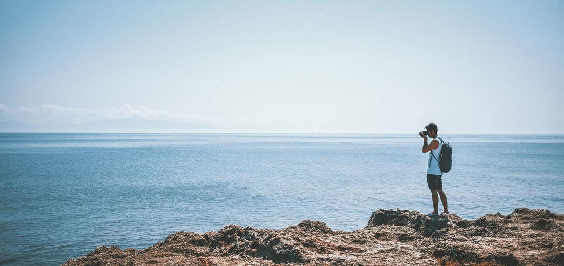 A traveler Sea
