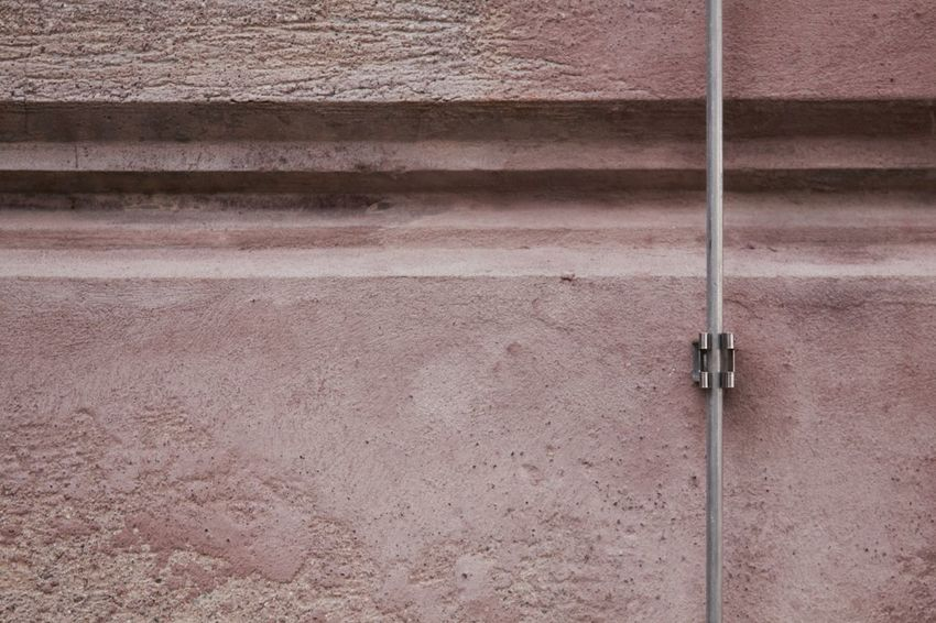 Façade Lines Geometric Lightning Rod Protection Rosé Security System Simplicity
